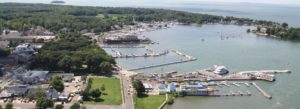 Picture of ariel view of Put-in-Bay