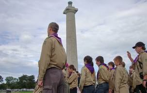 Picture of Put-in-Bay Ohio Boy Scout Jamboree