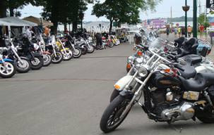 Photo Of Put-in-Bay Ohio Bike Week