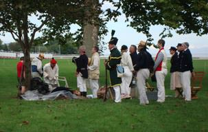 Photo of Put-in-Bay Ohio Historical Reenactment