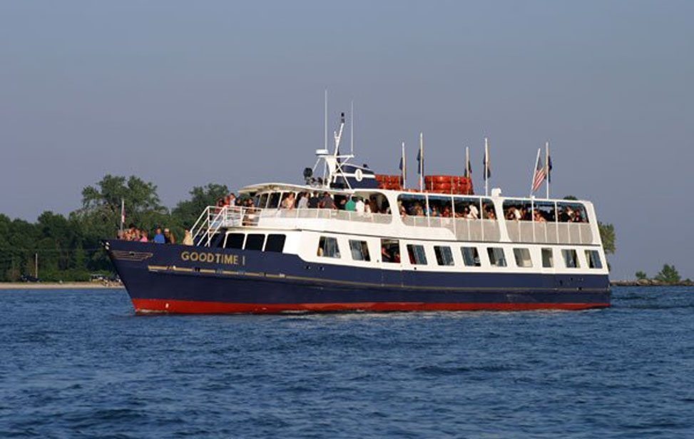 Picture of the Goodtimes Island Ferry to Put-in-Bay