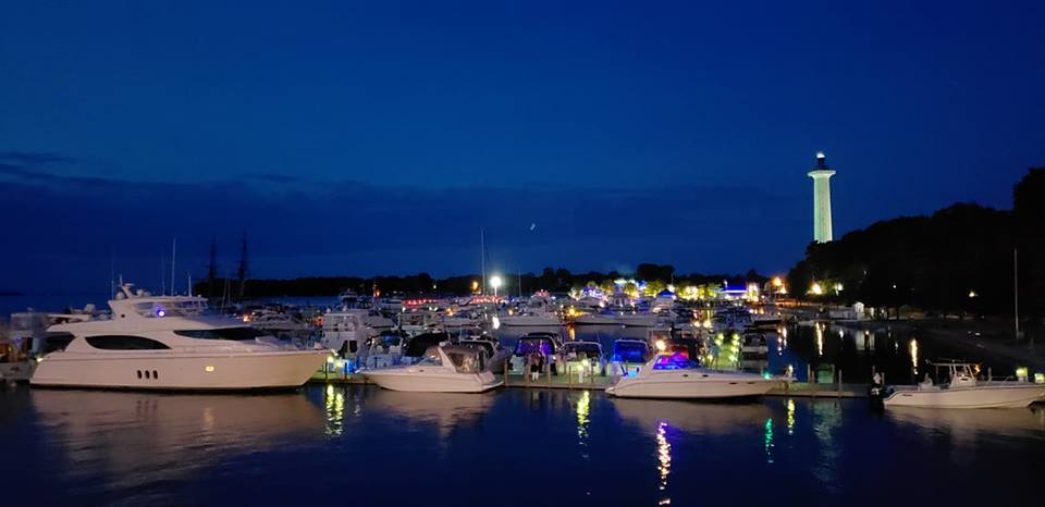 Put-in-Bay Labor Day Weekend Picture of boats
