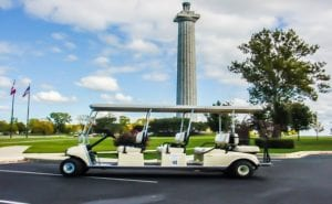 April Fools 2020 Picture of Golf Cart